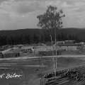 Stavba nového Bítova - historické fotografie